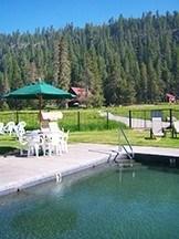 Hot Spring Pool at Drakesbad Guest Ranch – Mt. Lassen Volcanic National Park