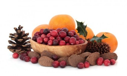 Deck the Fruit with Nuts and Pine Cones!