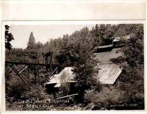 Seneca mill long ago