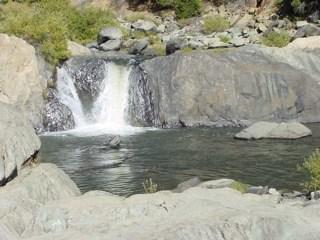 Indian Falls, waterfall Plumas County near Lake Almanor