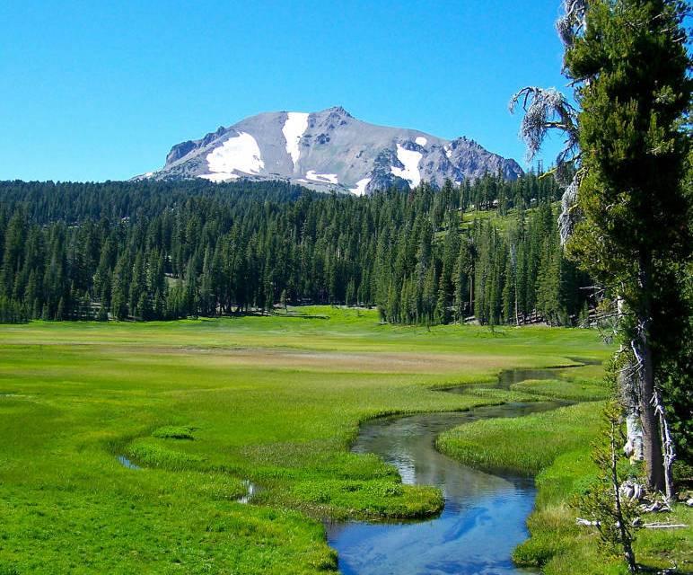 Enjoy the Seasons of Mt. Lassen