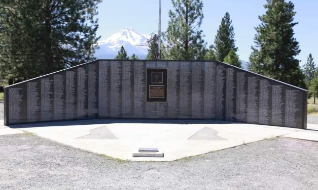 Veterans Honored At The Living Memorial Sculpture Garden Weed, Ca