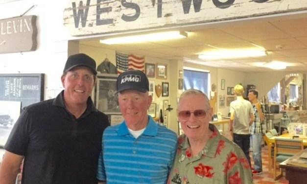 Pro Golfer Visits Westwood