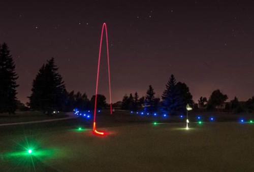 Glow-In-The-Dark Golf At Mt. Huff Golf Course