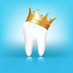Dental crown cartoon
