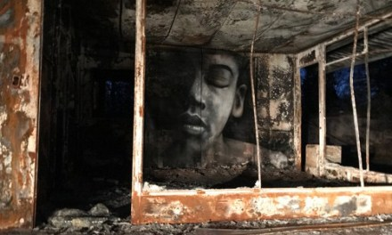 Beauty From Ashes- Shane Grammer's Street Art in Paradise