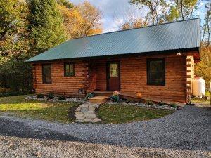 Log Cabin Front