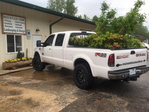 MtnView Landscaping truck