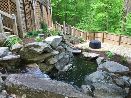 Stone Landscaping - water features
