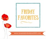 Friday Favorites at Mountain View Lane blog