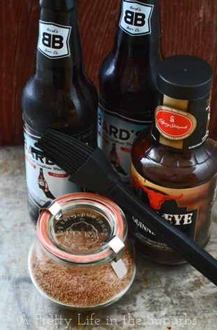 Brown Sugar Rib Rub from A Pretty Life in the Suburbs featured on Mountain View Lane blog's Father's Day ideas