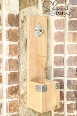 DIY Bottle Opener from Shanty 2 Chic featured on Mountain View Lane blog's Father's day gift ideas