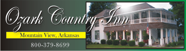 Ozark Country Inn B & B in Mountain View, Ar