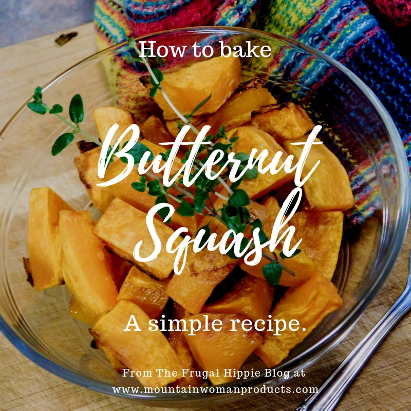 Butternut Squash – a Simple Recipe
