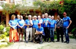 Soci CAI a Katmandu