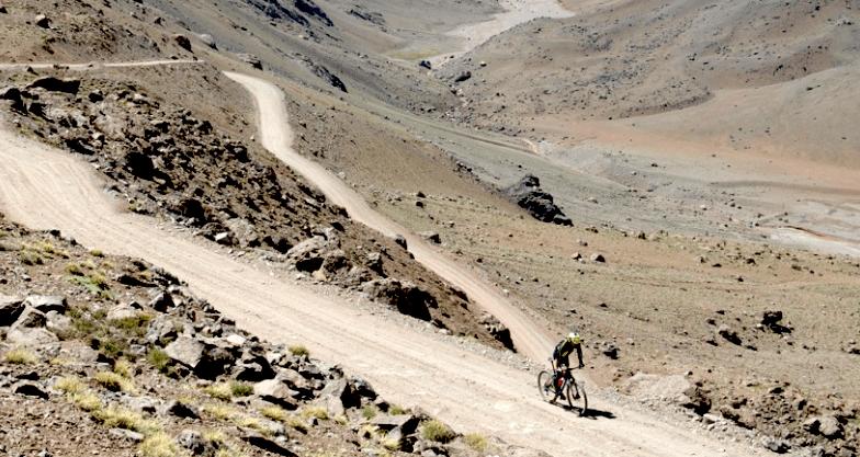 Aconcagua in bici