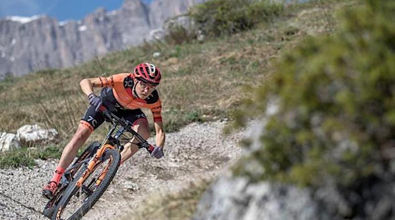 Incubo bikers sui sentieri della Paganella