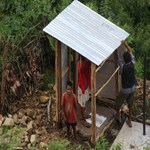 Building budget toilet village to villages
