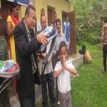 Rajendra-Nhisutu-and-HIMET-Volunteers-at-distrubution-educational-meterials
