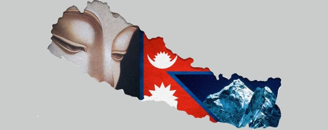 nepal-flag-and-map