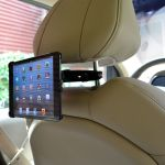 Car Headrest Mounts for Tablets, Phones and Cameras