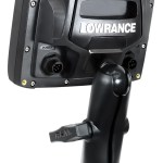 Lowrance Elite Fishfinder Mounting Options