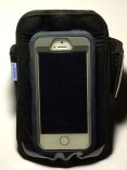 Arkon ARMBAND6 with an iPhone 5s with Otterbox