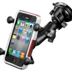 RAM Twist Lock Suction Cup Mount with X-Grip Cradle Review