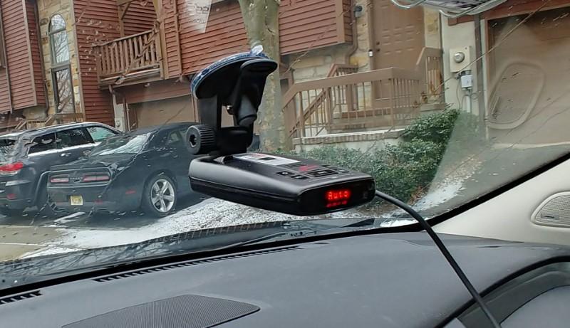 Arkon Radar Detector Car Windshield Mount RDMET01