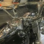 Mounts for a Harley-Davidson Heritage Softail Motorcycle