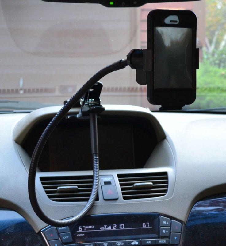 Phone, GPS And Tablet Mounts For An Acura MDX