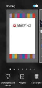 Some Help Fixing a Slow Samsung Galaxy Phone by Disabling the Briefing App