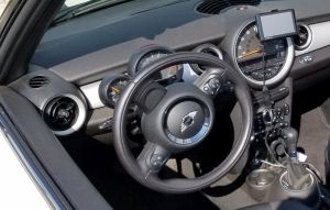 Phone and GPS Mounts for a Mini Cooper