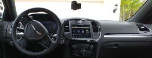 Chrysler 300 Interior with Arkon Mount