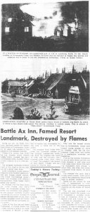 Battle Axe Fire - Oregon Journal