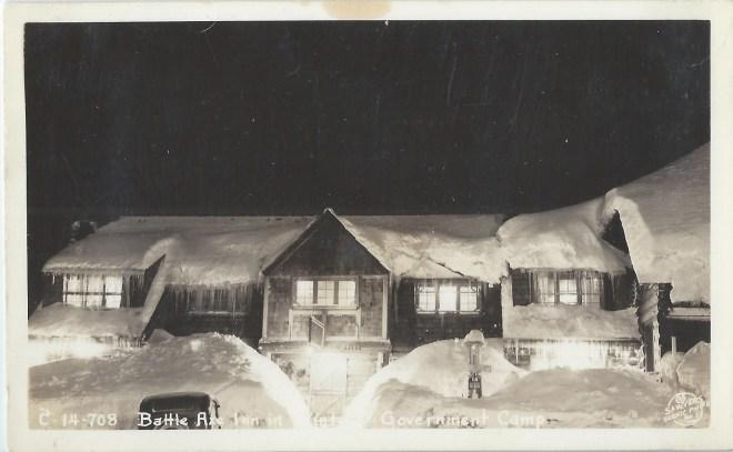 Battle Axe Inn, Government Camp Oregon