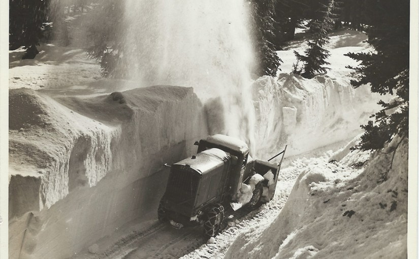 Mt hood loop highway snowplow