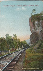 Oneonta Bluff and Railroad Tracks