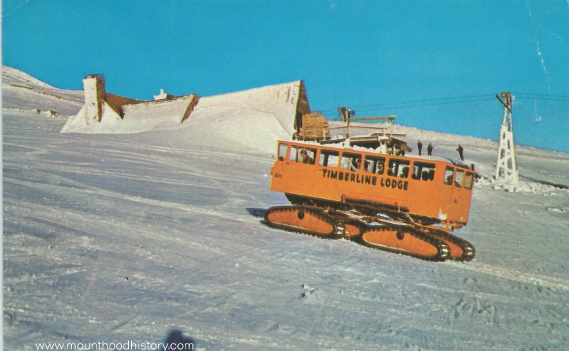 Mount Hood Timberline Lodge Tucker Sno-Cats