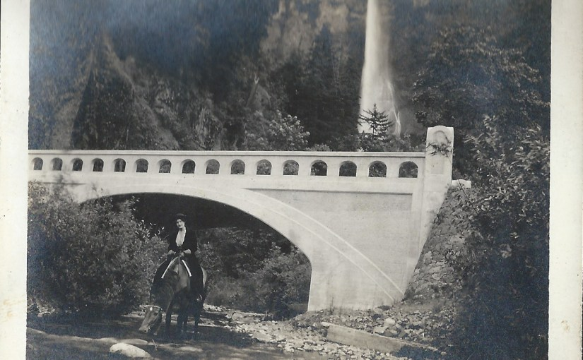 Horseback Riding on The Historic Columbia River Highway