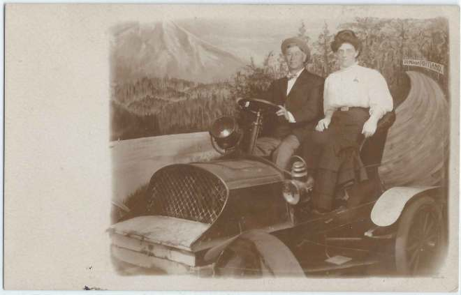 Mt Hood Automobile Photo Backdrop