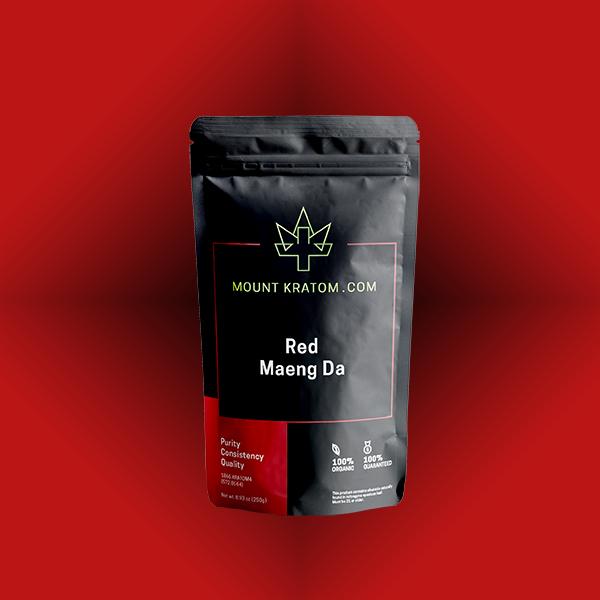 Red Maeng Da Kratom Pouch