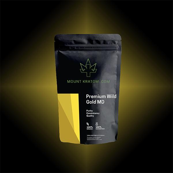 Premium Wild Gold Maeng Da Kratom
