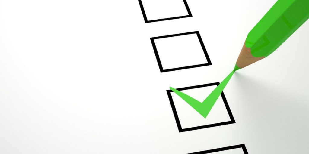 checklist image to show importance of making a checklist before buying kratom
