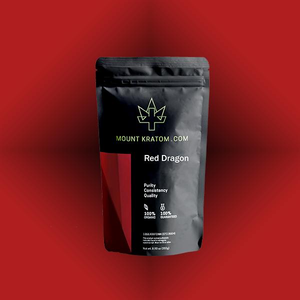 Red Dragon Kratom Powder & Capsules