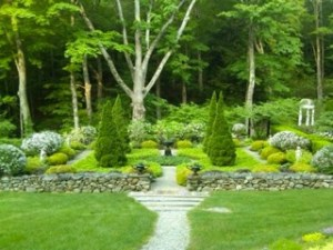Gardens in the Hudson valley include this the berkshire botanical garden