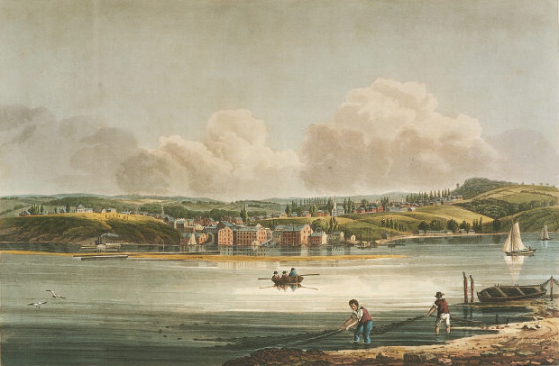 History of Hudson Ney, Hudson-view from Athens