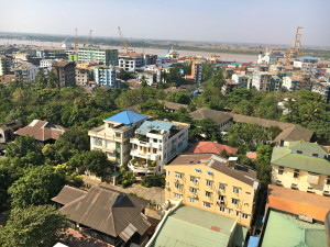 Navigating Yangon Traffic