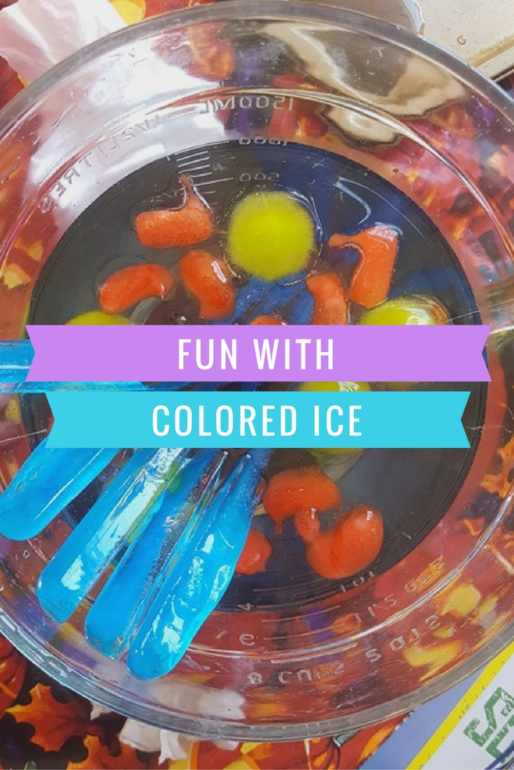 Fun With Colored Ice