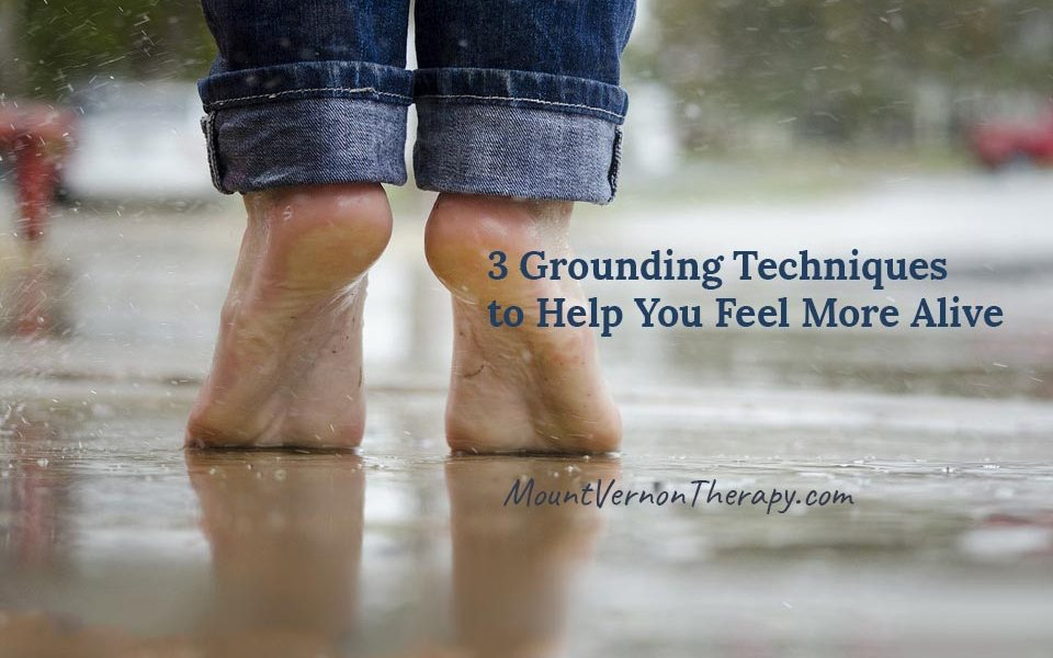 Grounding techniques for grounding yourself
